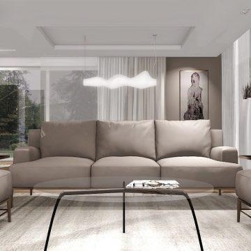 projekty wnętrz rzeszów salon dom w łańcucie wizualizacja profesjonalne porady architekta wnętrz